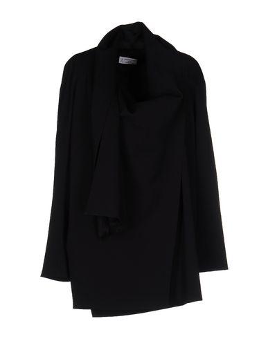 Alberto Biani | Черный Женское черное легкое пальто ALBERTO BIANI Шерстяной муслин | Clouty