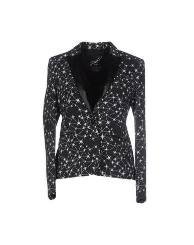 G.Sel | Женский черный пиджак G.SEL искусственная кожа | Clouty