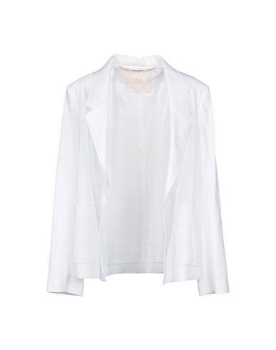 VDP | Белый; Фуксия Женский белый пиджак VDP COLLECTION плотная ткань | Clouty