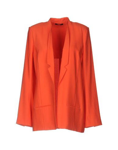 HOLY GHOST | Женский оранжевый пиджак HOLY GHOST фланель | Clouty