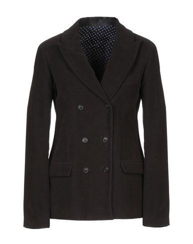 Grifoni | Женский темно-коричневый пиджак MAURO GRIFONI бумазея | Clouty