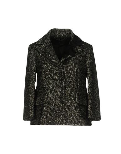 Clips | Женский черный пиджак CLIPS букле | Clouty
