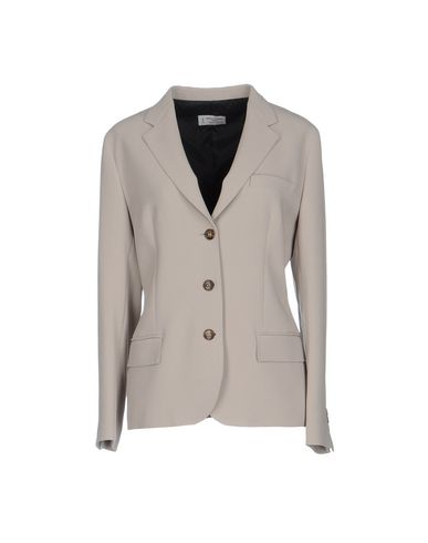 Alberto Biani | Женский светло-серый пиджак ALBERTO BIANI креп | Clouty