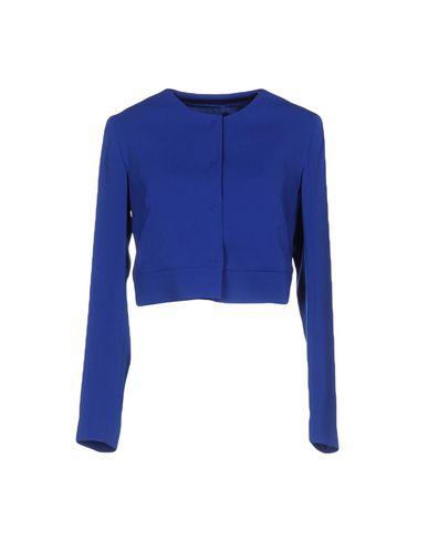 Hanita | Женский синий пиджак HANITA креп | Clouty