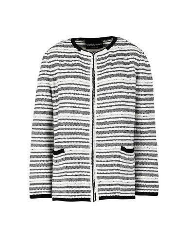 Giorgio Grati | Женский белый пиджак GIORGIO GRATI вязаное изделие | Clouty