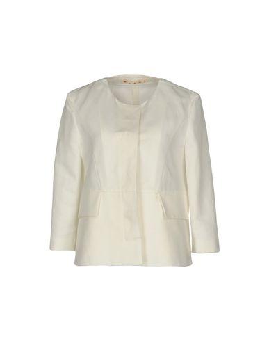 Marni | Женский белый пиджак MARNI твил | Clouty