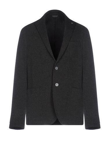 Manuel Ritz | Свинцово-серый Мужской пиджак MANUEL RITZ джерси | Clouty