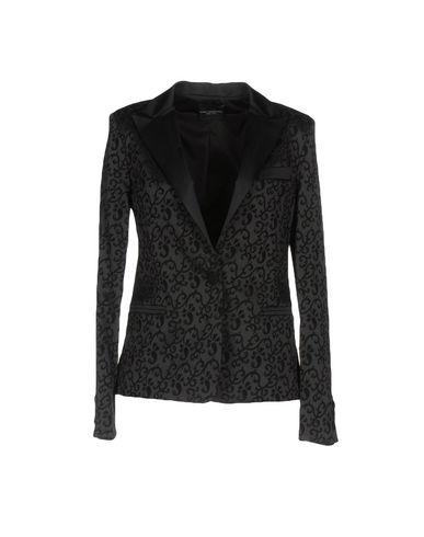 Atos Lombardini | Женский черный пиджак ATOS LOMBARDINI жаккардовая ткань | Clouty