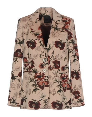 PINKO | Женский розовый пиджак PINKO Жаккардовая ткань | Clouty