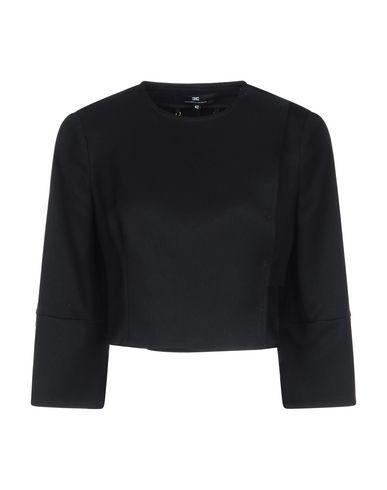 Elisabetta Franchi   Женский черный пиджак ELISABETTA FRANCHI плотная ткань   Clouty