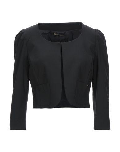 DIVEDIVINE | Женский черный пиджак DIVEDIVINE креп | Clouty