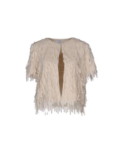 Brunello Cucinelli | Слоновая кость Женский пиджак BRUNELLO CUCINELLI креп | Clouty