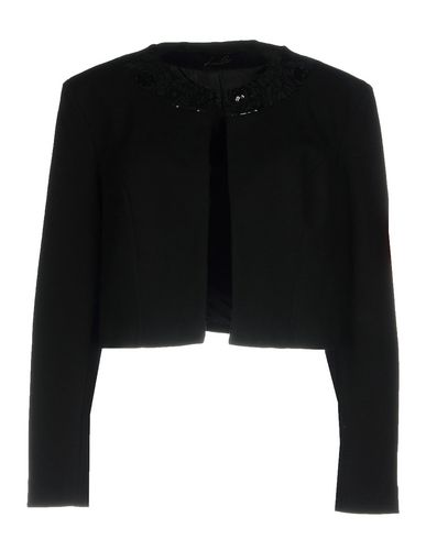Lizalù | Женский черный пиджак LIZALU' джерси | Clouty