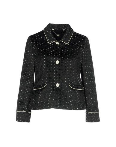 Twin-Set | Женский черный пиджак TWINSET атлас | Clouty