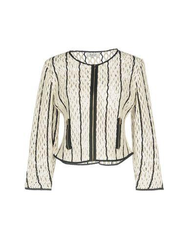 Aviù | Женский белый пиджак AVIU тюль | Clouty
