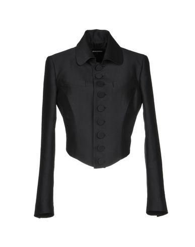 DSQUARED2 | Женский черный пиджак DSQUARED2 фланель | Clouty