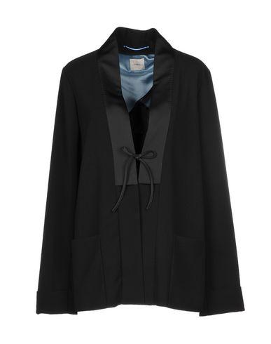 ..,Merci | Женский черный пиджак ..,MERCI атлас | Clouty