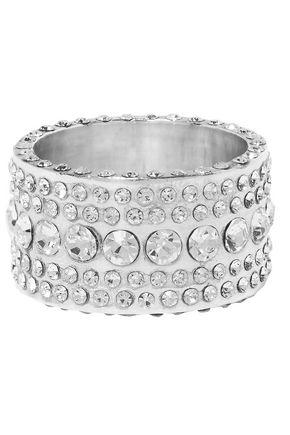 Magda Butrym | Magda Butrym Woman Silver-tone Cubic Zirconia Ring | Clouty