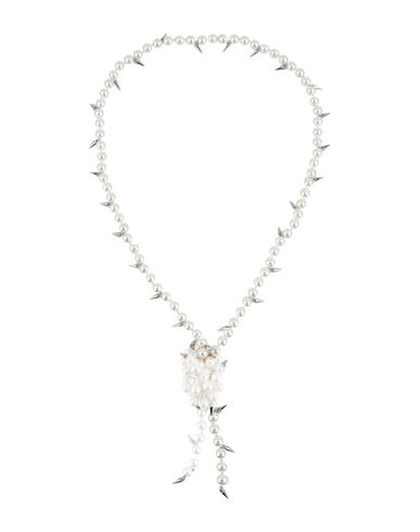 Fallon   Белый Женское белое ожерелье FALLON   Clouty