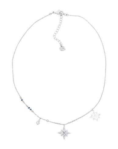 Swarovski | Серебристый Женское серебристое ожерелье SWAROVSKI материал с покрытием | Clouty