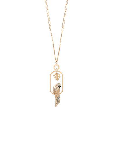 Swarovski | Золотистый Женское золотистое ожерелье SWAROVSKI регулируемая застежка | Clouty