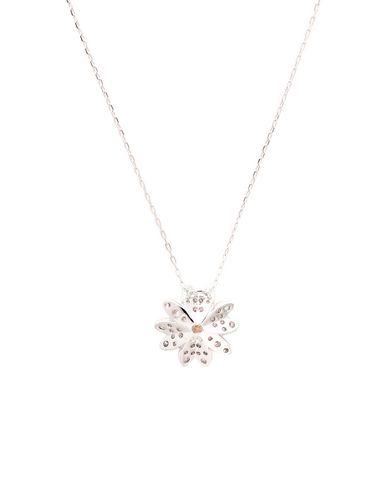 Swarovski   Серебристый Женское серебристое ожерелье SWAROVSKI   Clouty
