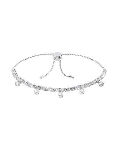 Swarovski | Женский серебристый браслет SWAROVSKI родиевое покрытие | Clouty