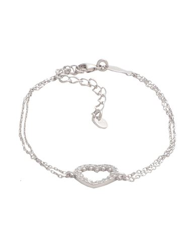 Kurshuni | Женский серебристый браслет KURSHUNI родиевое покрытие | Clouty