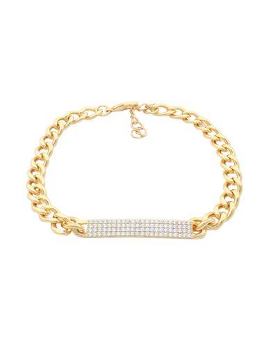 GALLERIA ARMADORO | Женский золотистый браслет GALLERIA ARMADORO регулируемая застежка в виде цепочки и крючка | Clouty
