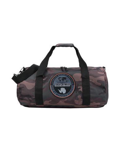 Napapijri | Темно-зеленый Темно-зеленая дорожная сумка NAPAPIJRI техническая ткань | Clouty