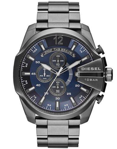 DIESEL | Темно-синий Мужские темно-синие наручные часы DIESEL логотип | Clouty