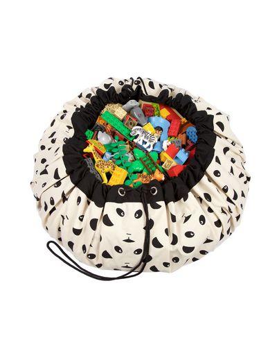 PLAY & GO | Слоновая кость Детский аксессуар для детей PLAY & GO • Практичное и многофункциональное решение: большой мешок для игрушек | Clouty