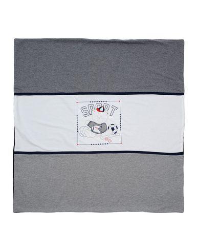 Aletta   Серый Детское серое одеяло ALETTA джерси   Clouty