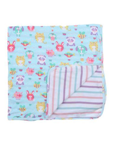 Hatley | Небесно-голубой Детское одеяльце для младенцев HATLEY джерси | Clouty