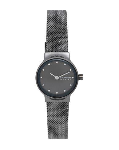 Skagen Denmark | Свинцово-серый Женские наручные часы SKAGEN стразы | Clouty