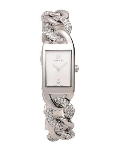 Swarovski | Серебристый Женские серебристые наручные часы SWAROVSKI материал корпуса: нержавеющая сталь | Clouty