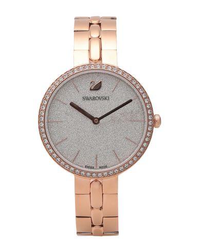 Swarovski | Медный Женские медные наручные часы SWAROVSKI покрытие розовым золотом | Clouty