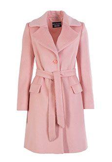 Boutique Moschino | Розовый Пальто BOUTIQUE MOSCHINO | Clouty