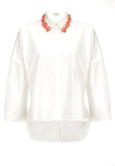 PINKO | Белый Рубашка PINKO | Clouty