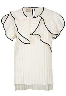 Nude   Белый Блуза NUDE   Clouty