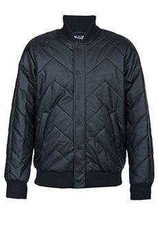 EA7 Emporio Armani | Черный Куртка EA7 | Clouty
