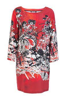 Roberto Cavalli | Красный Платье ROBERTO CAVALLI | Clouty