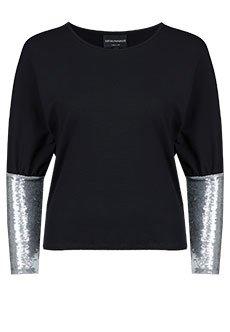 Emporio Armani | Черный Блуза EMPORIO ARMANI | Clouty