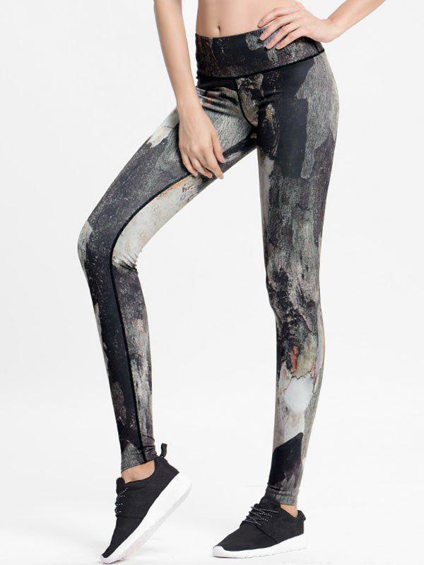Zaful | MULTI High Rise Printed Sports Leggings | Clouty
