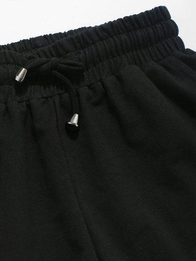 Zaful | TEA GREEN ZAFUL Ribbed Crop Top and Drawstring Shorts Set | Clouty