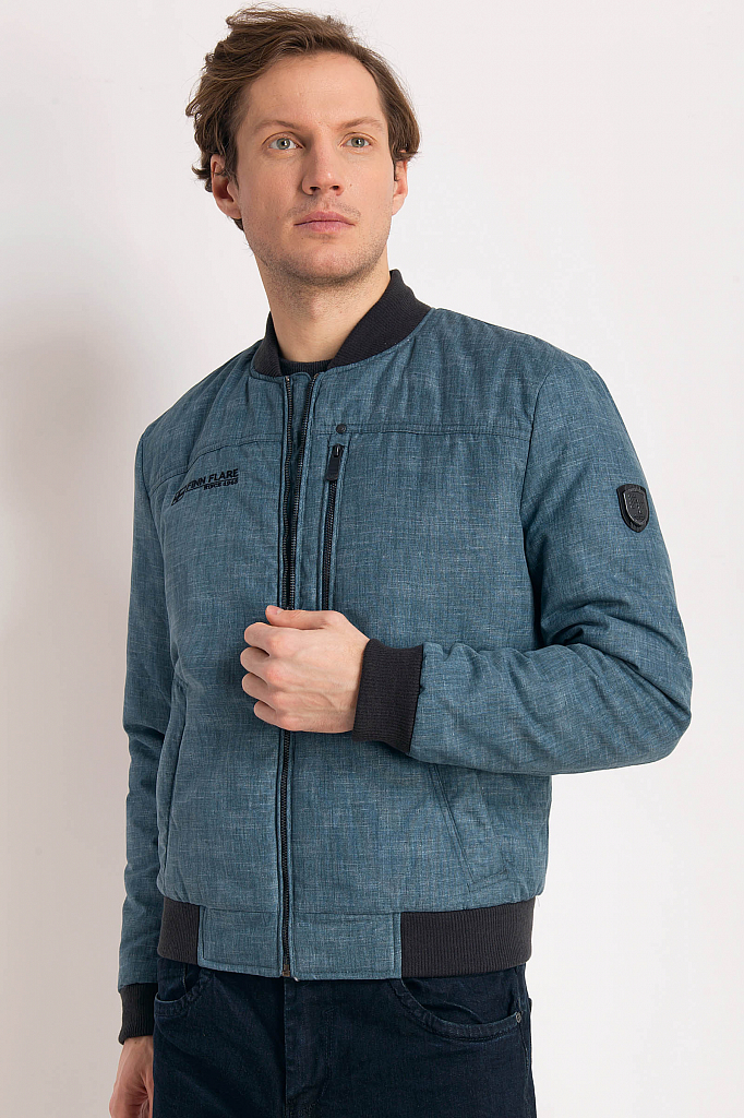 Finn Flare | темно-синий Куртка мужская | Clouty