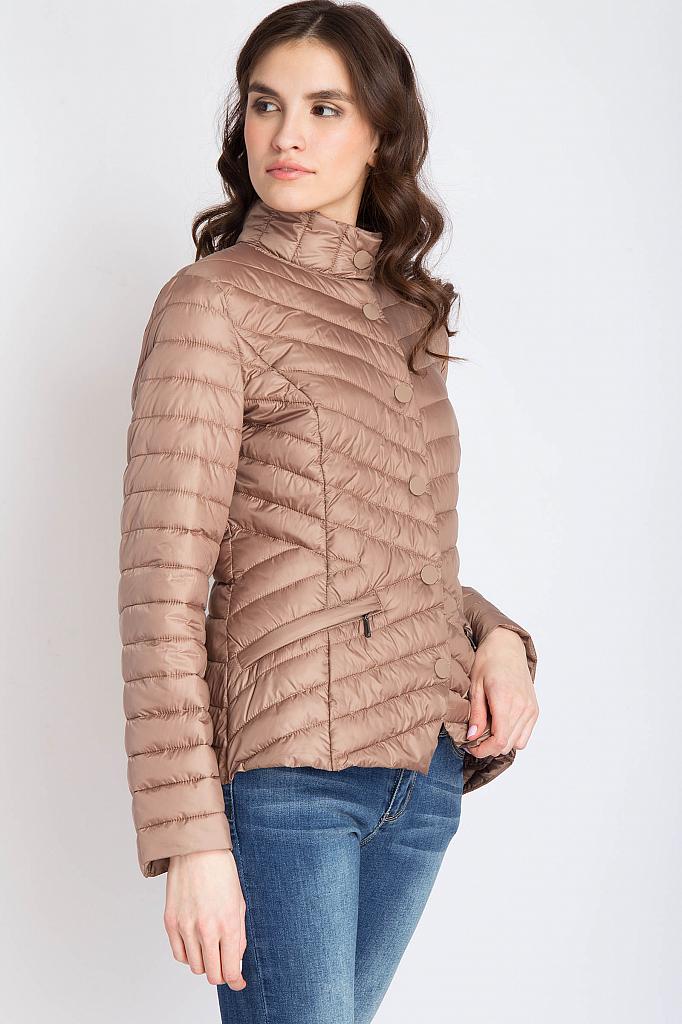Finn Flare   коричневый Куртка женская   Clouty