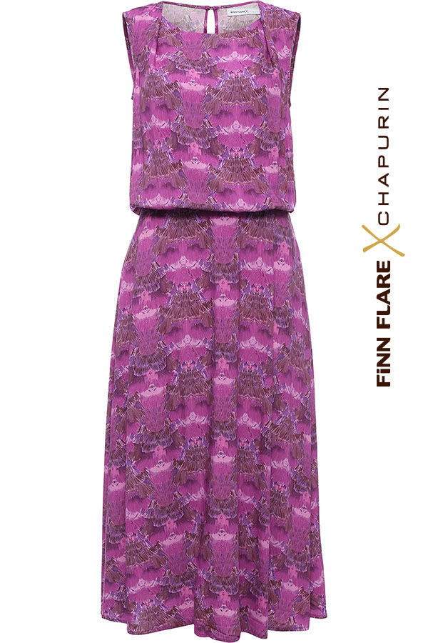 Finn Flare   розовый Платье женское   Clouty