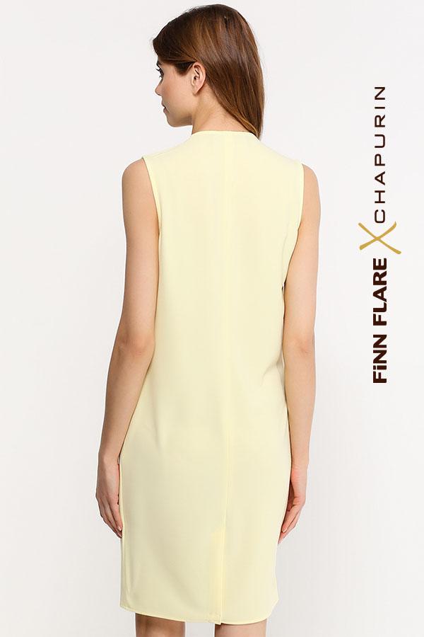 Finn Flare   желтый Платье женское   Clouty