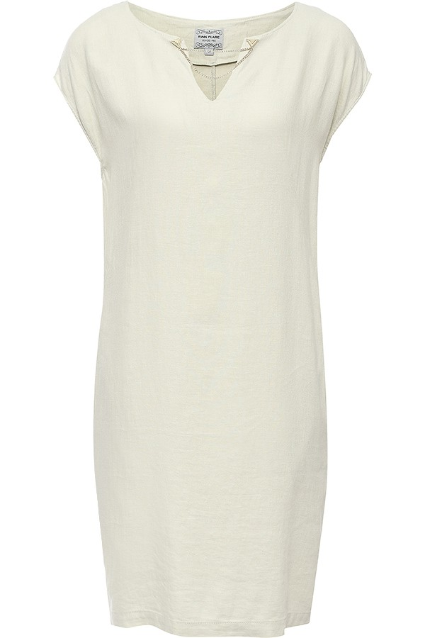 Finn Flare | светло бежевый Платье женское | Clouty